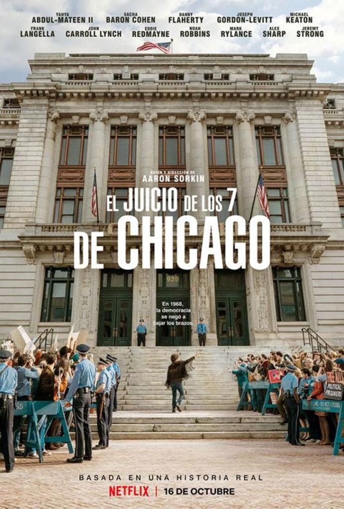 Póster de El juicio de los 7 de Chicago