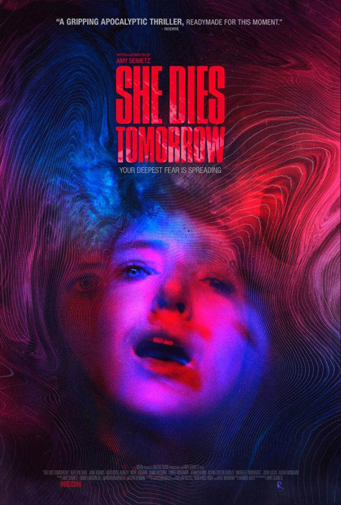 Póster de la película 'She dies tomorrow'