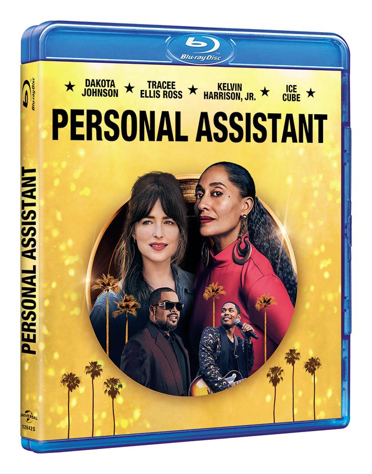 Portada del Bluray de Personal Assistant