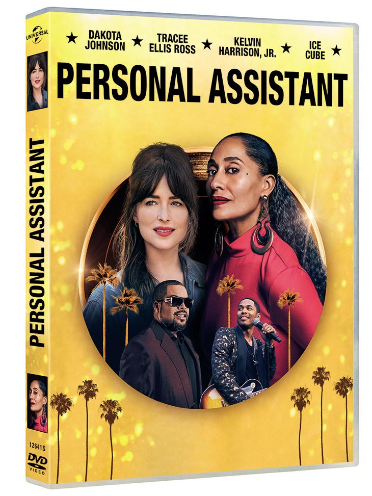 Portada del DVD de Personal Assistant