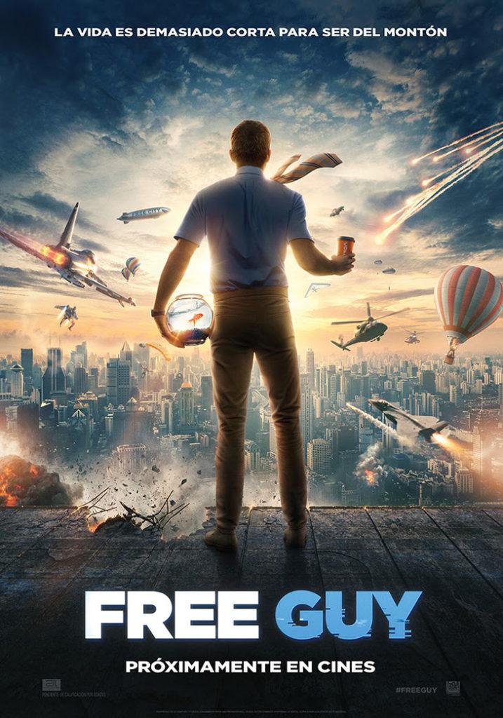 Póster de la película Free Guy