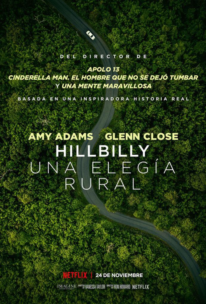 Póster de Hillbilly: una elegía rural