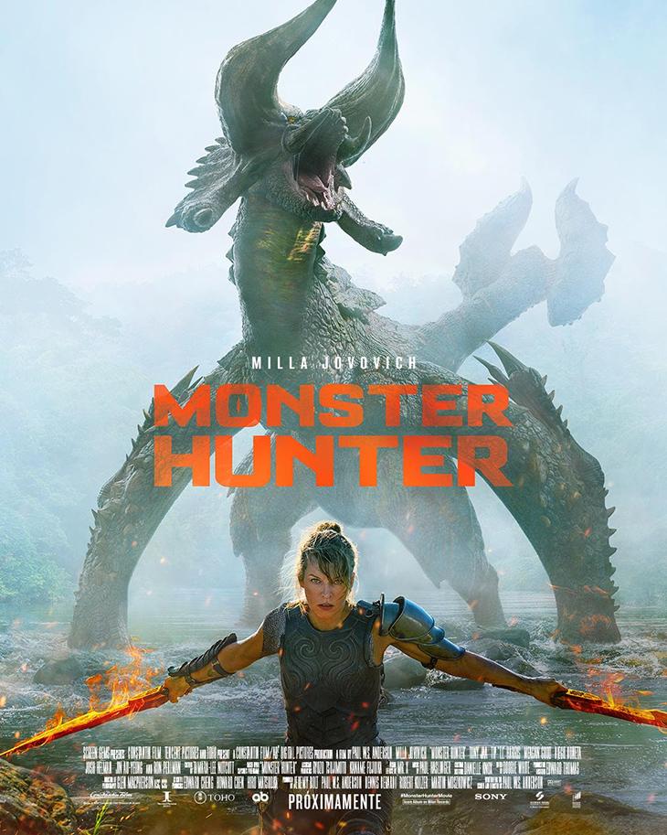 Póster de la película 'Monster Hunter'