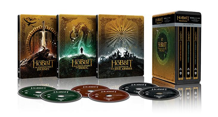 Pack en 4k de la trilogía de El Hobbit