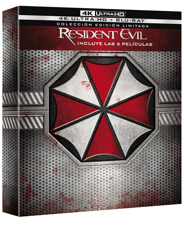 Pack 4k de la Saga Resident Evil