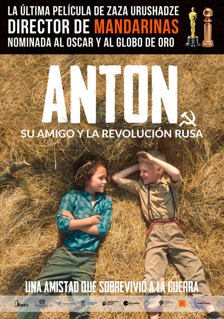 Cartel de la película 'Anton, su amigo y la revolución rusa'