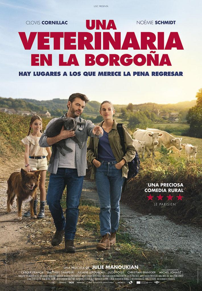 Póster de la película Una veterinaria en la Borgoña