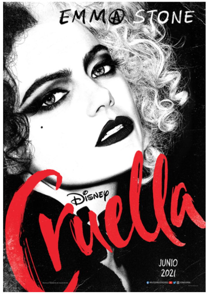 Póster de 'Cruella', de Disney