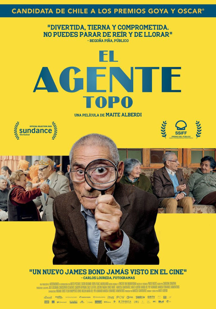 Póster del documental El Agente Topo