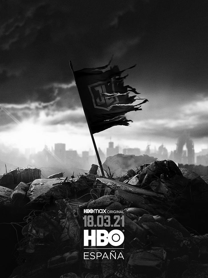 Póster de 'La Liga de la Justicia' de Zack Snyder