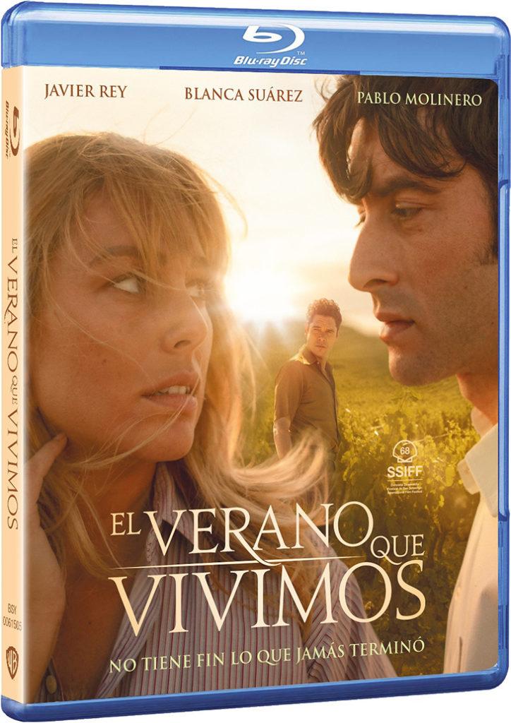 Carátula del Blu-ray de la película 'El verano que vivimos'