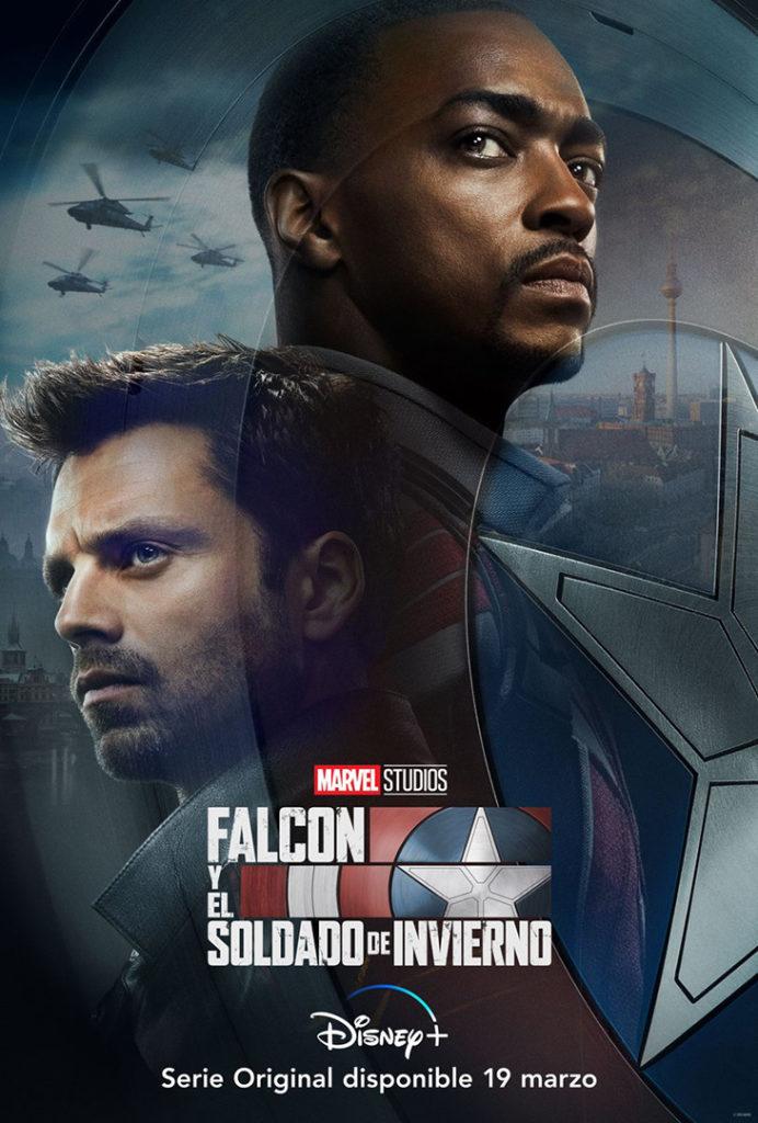 Póster de Falcon y el Soldado de Invierno