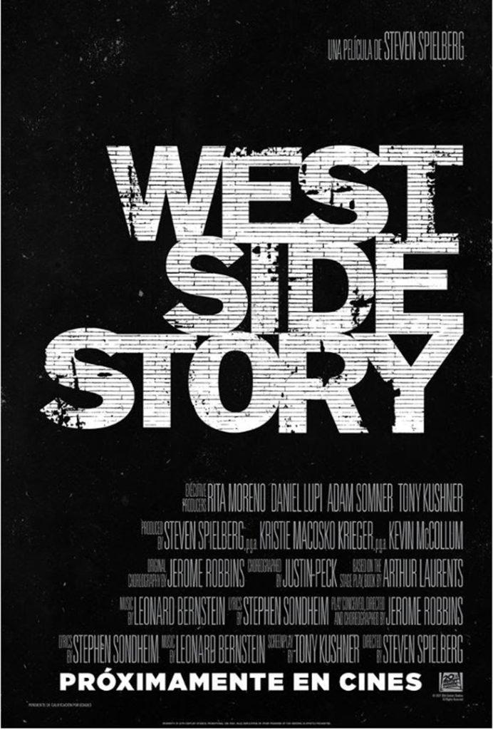 Póster del remake de West Side Story, de Steven Spielberg