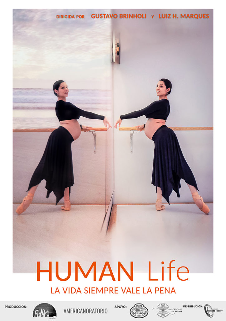 Póster del documental Human Life