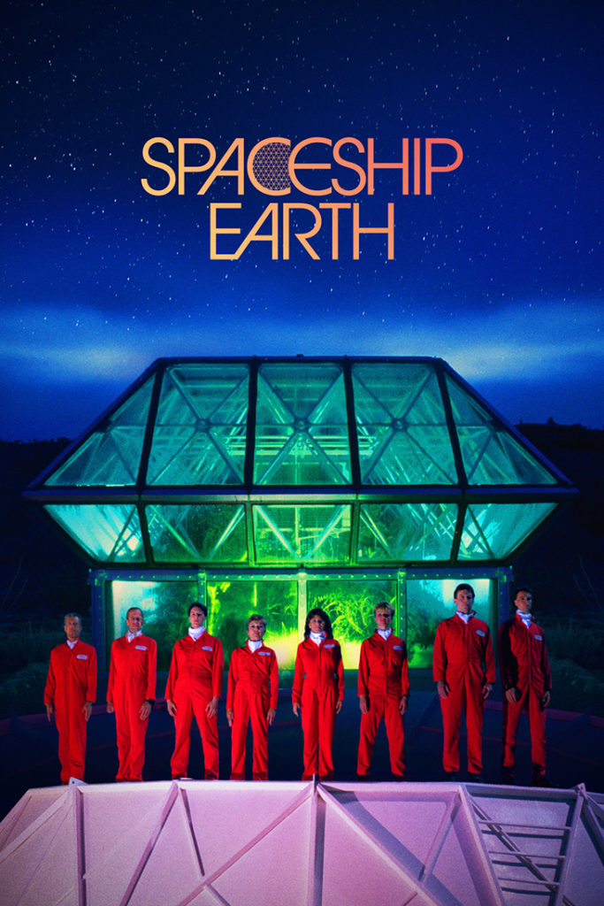 Póster del documental Spaceship Earth
