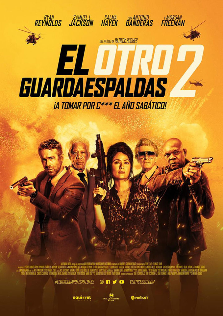 Póster final en español de 'El otro guardaespaldas 2'