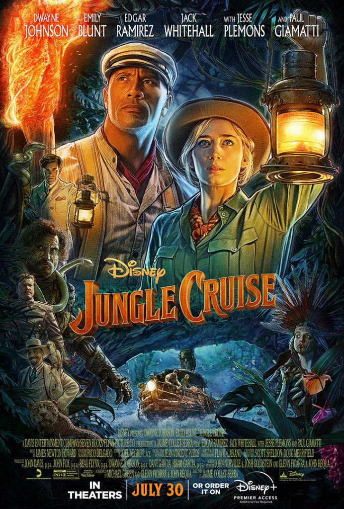 Póster de la película Jungle Cruise