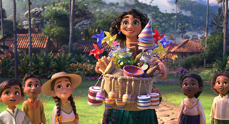 Una imagen de la película 'Encanto'
