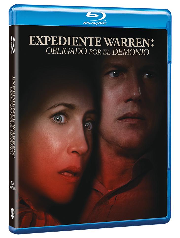 Portada del Bluray de Expediente Warren: obligado por el demonio