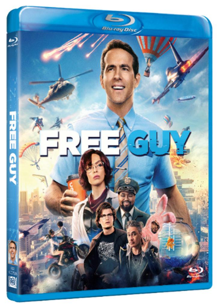 Carátula del BR de Free Guy