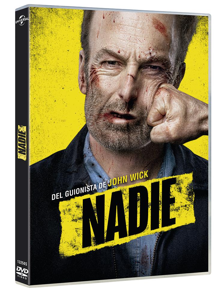 Carátula del DVD de 'Nadie (Nobody)'