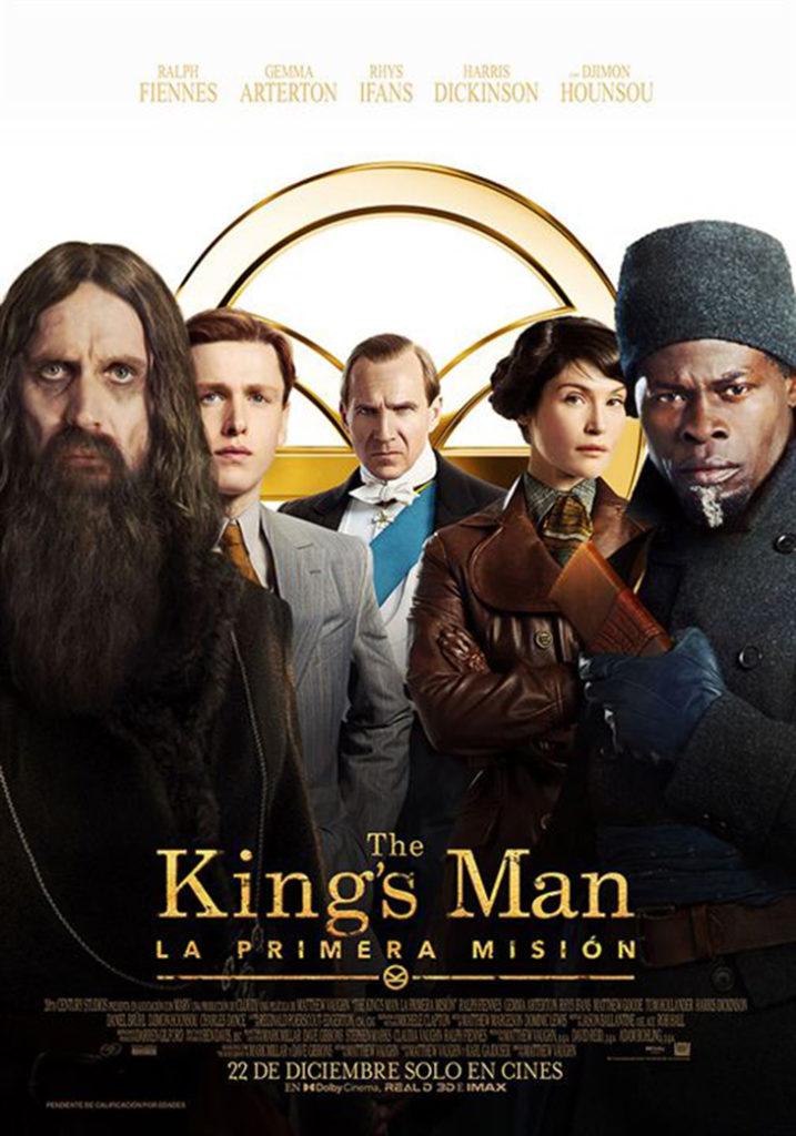Póster de 'The King`s Man: la primera misión'