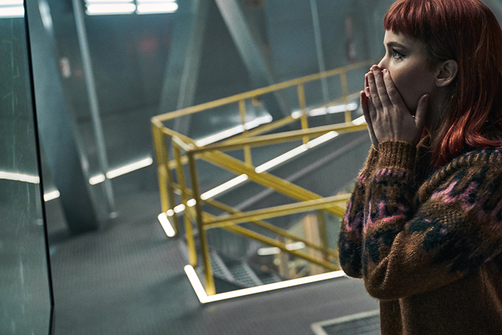 Jennifer Lawrence en 'No mires arriba'