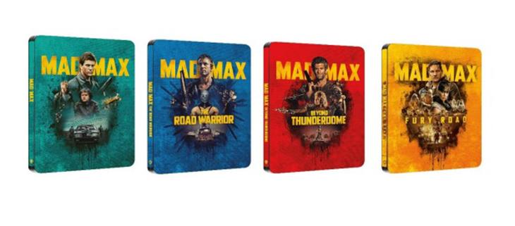 Imagen de la Saga Mad Max