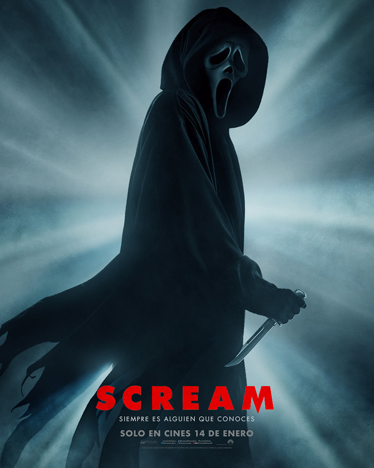 Póster de Scream